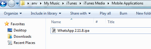 WhatsApp IPA File